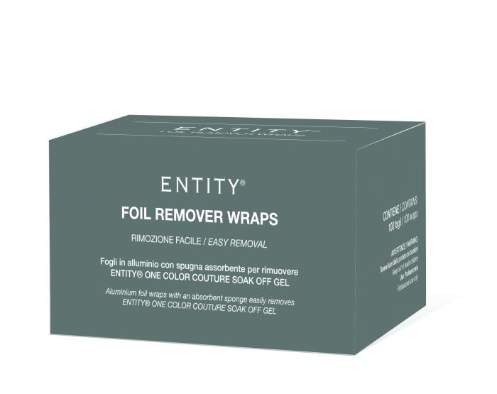 Entity foil remover wraps
